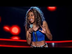 Iesher Haughton performs 'Who's Loving You' - The Voice UK 2014: Blind Auditions 3 - BBC One
