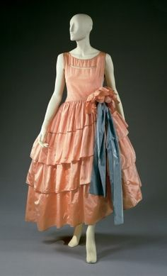 EVENING DRESS AND HOOP, Lanvin 1927