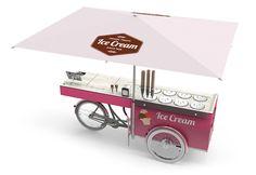 ICE CREAM BIKE – SNACK STAND – CARGO SALES BIKE | paul&ernst street food solutions
