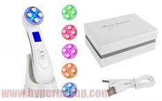 Kozmetický prístroj žehlička na pleť 5v1 FW, EMS, LED svetlo Ems, Headphones, Headpieces, Ear Phones