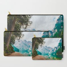 The Place To Be II Carry-All Pouch by Mixed Imagery | Society6
