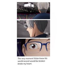 I was sad, yeah, but that was just another reason for him to get back out on the ice and skate with both Yuris. Not to mention, I love Viktor, but I was so freaking pumped for Yurio.
