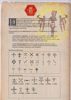 Alphabeth & numbers |Pusaka Maluku