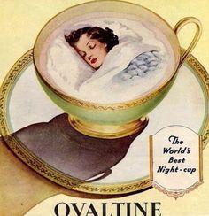 Ovaltine for sleepy time