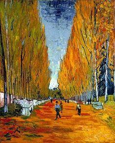 Van Gogh, Les Alyscamps