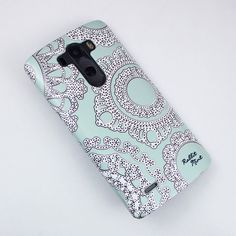 LG G3 Case Lace on the Mint P00006 by rabbitmint on Etsy