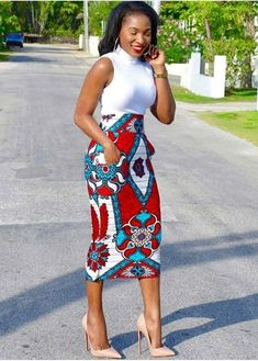 Fashion women s quartz watches. african print ankara pencil skirt with pockets African Pencil Skirt, African Print Skirt, African Print Dresses, African Fashion Dresses, African Attire, African Wear, African Dress, Pencil Skirts, African Style