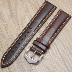 Watchbands Retro Genuine Leather Brown Men 20mm 22mm 24mm Soft Watch Band Strap Metal Pin Buckle Accessories Relojes Hombre 2016-in Watchbands from Watches on Aliexpress.com | Alibaba Group