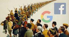 """Facebook și Google sunt într-o """"relație complicată"""" cu propaganda rusă"""