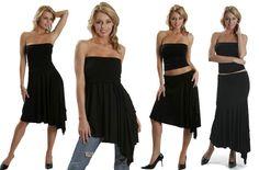 Falda vestido con pico (multivestido multiprenda) : VCTRY's BLOG
