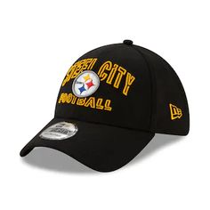 Pittsburgh Steelers Hats, Steelers Gear, Steelers Stuff, Nfl Logo, Team Logo, New Era 39thirty, Nfl Gear, Curves Workout, Steeler Nation
