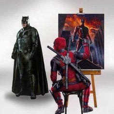 Marvel Fan, Marvel Heroes, Crossover, Deadpool Funny, Deadpool Wallpaper, Couple Cartoon, Comics Universe, Comic Book Heroes, Geek Culture