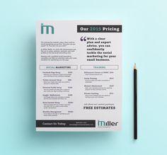 graphic designer price list - Google Search | Design price list ...