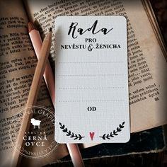 Výsledek obrázku pro kartičky na přání novomanželům