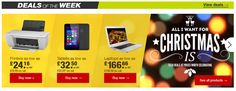 Deals of the Week Product Recommendations Banner from Staples #Web #Banner #Digital #Online #Marketing #Hitech #Christmas #Deals #Products