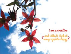 """Day 6: """"I am a creative and I like to look at things upside down"""" #30daysofcreativity @createstuff"""