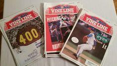 Chicago Cubs VineLine 24 issues lot 1992, 1993, 1994 Vine Line Baseball Magazine