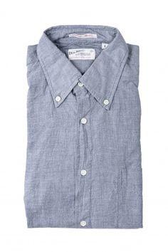Selvage Madras Button Down Shirt - 434 madisonlosangeles.com #mens #shirt