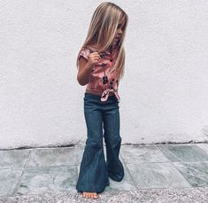 This is my girls ❤ Little Kid Fashion, Little Girl Outfits, Cute Outfits For Kids, Baby Girl Fashion, Toddler Fashion, Cute Kids, Kids Fashion, Fashion Top, Cheap Fashion