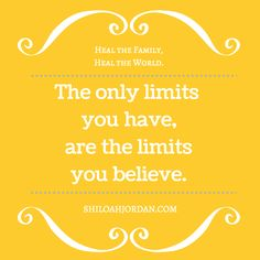The possibilities are limitless! Believing is half the challenge of doing. RE-PIN if you agree.   Learn more at: MySassyGrass.com