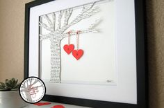 Celebrate your wedding vows or first dance song with a unique wedding gift idea in the form of a paper notion, framed and matted. Home of the
