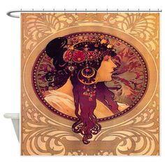 Byzantine Shower Curtain on CafePress.com