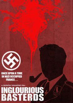 Inglourious Basterds (2009) ~ Minimal Movie Poster by Ben Mcleod
