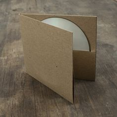 100% Recycled Double CD Sleeve // use for marketing sleeve