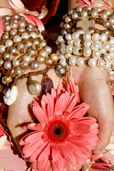 So many pearls so little time! Jewelry by Wendy Mignot