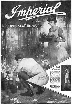 Imperial underwear ad from the 1920s. Vintage Prints df4bc989c4692