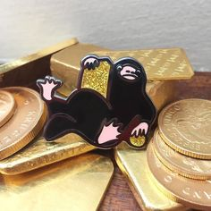 Repost @feralchildpinco PIN DROP!!! Niffler pins are here and in the shop. The quality of these is absolutely amazing. These can be found at the link in our bio. http://ift.tt/2ku3r47 . #pins #pin #pingame #pingamestrong #pinstagram #pinsofinstagram #pinsfordays #lapelpin #lapelpins #hatpin #enamelpin #pingameproper #pincollector #pincollection #pinaddict #pinaddiction #pinmaker #etsy #etsyseller #momboss #pincommunity #flair #flairmaker #flairgame #nifflerpin #niffler #fantasticbeasts…