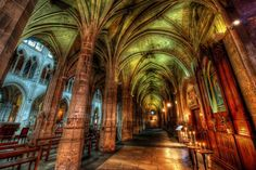 An accidental find in France, This cathedral was no tourist attraction, but a great spot for photography. from #treyratcliff at www.StuckInCustom... - all images Creative Commons Noncommercial