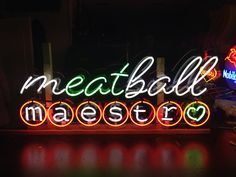 Meatball Maestro by Neondesigns