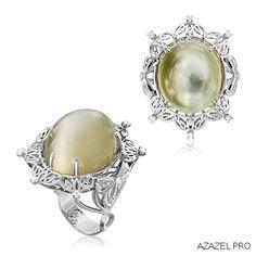 Перстень с Лунным камнем Ring with moonstone  #ring #лунныйманикюр #top #топ…
