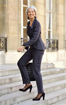 Christine Lagarde, Director of the International Monetary Fund (IMF)