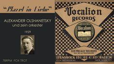 1929, Mazel in Liebe, Alexander Olshanetsky Orch, Klezmer Fox Trot, Hi Def