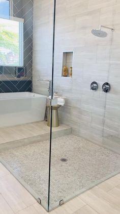 Diy Bathroom Remodel, Bathroom Renovations, Budget Bathroom, Bathroom Ideas White, Master Bath Remodel, Bathroom Trends, Shower Remodel, Bathroom Inspo, Bad Inspiration