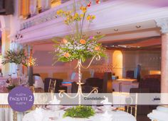 Un detalle para resaltar la decoración de las mesas.