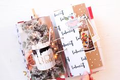 December Daily 2017 ist fertig - Yay :) - Scrap Sweet Scrap December Daily, Mini Albums, Bullet Journal, Junk Journal, Christmas Journal, Journal Layout, Smash Book, Mini Books, Daily Inspiration