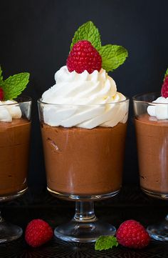 Easy Chocolate Mousse - Cooking Classy