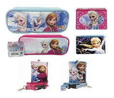 Disney Frozen Two Pencil Pouch Plush Two Lanyards and Two Autograph Book >>> Want to know more, click on the image.