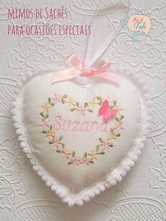 sachê coração bordado - Atelier Flor de Tule DSCN7936   Flickr - Photo Sharing!