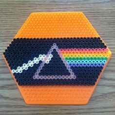 easy perler bead patterns hexagon board - Google Search