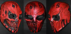 Army Of Two, Paintball, Airsoft Mask, Deadpool, Superhero, Fictional Characters, Art, Art Background, Kunst
