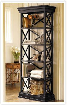 Ballard Designs Bourdonnais - Eiffel Tower Inspired Bookcase
