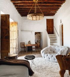 <p>This 400 year-old cave turned home is located just north of Ibiza, in an idyllic setting surrounded by nature. The home, although very old, carries a contemporary energy. With owners from New York, the design direction of the house took on a very rustic yet sophisticated direction. The interiors have barely been touched, maintaining the […]</p>