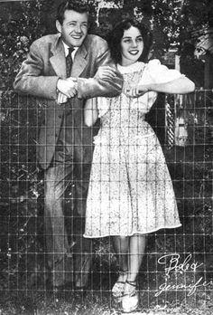 Jennifer Jones & Robert Walker