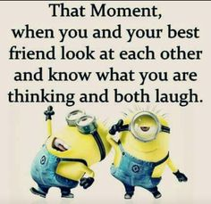 . Minion Jokes, Minions Quotes, Like Quotes, Funny Quotes, Minion Mayhem, Laughter The Best Medicine, Haha Funny, Funny Stuff, Funny Thoughts