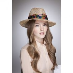 """@Eugenia Kim """"Bianca"""" Vintage Fedora is the perfect spring accessory for everyday. #Covet Chic"""