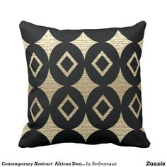 Contemporary Abstract  African Design